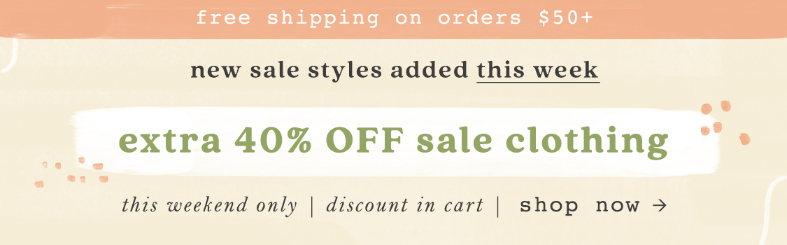 Shop 40% off sale clothes