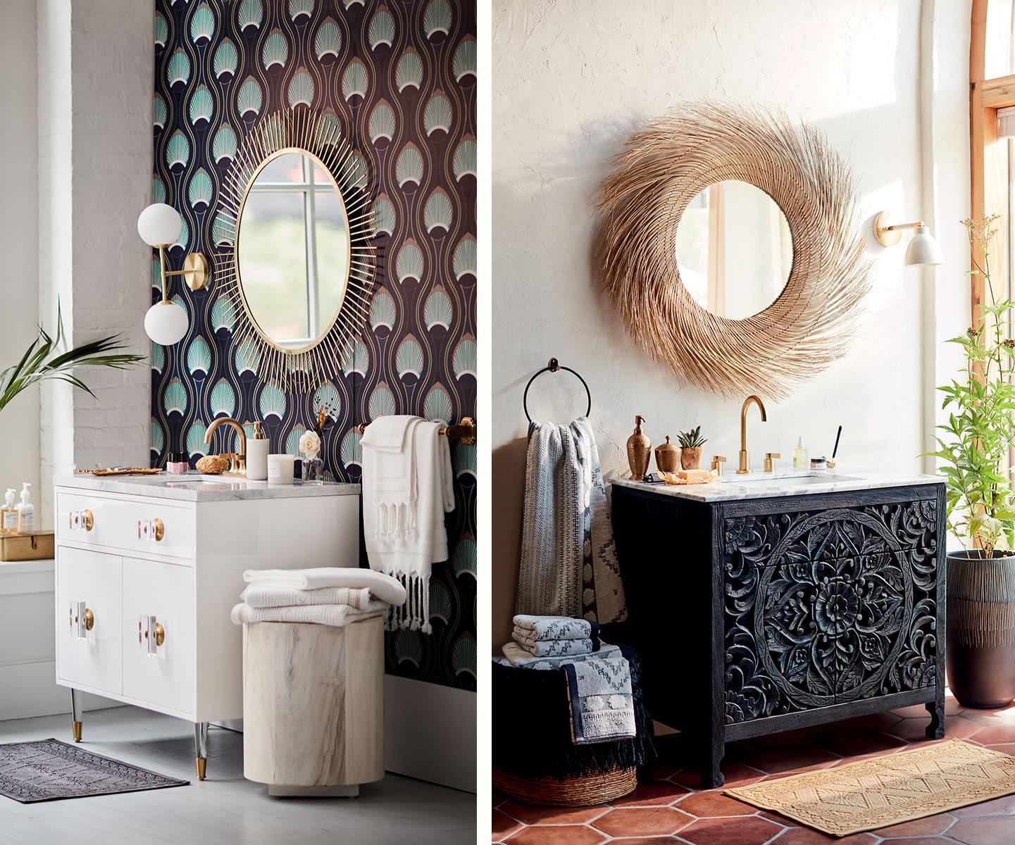 Bathroom Vanity Decorating Ideas Anthropologie