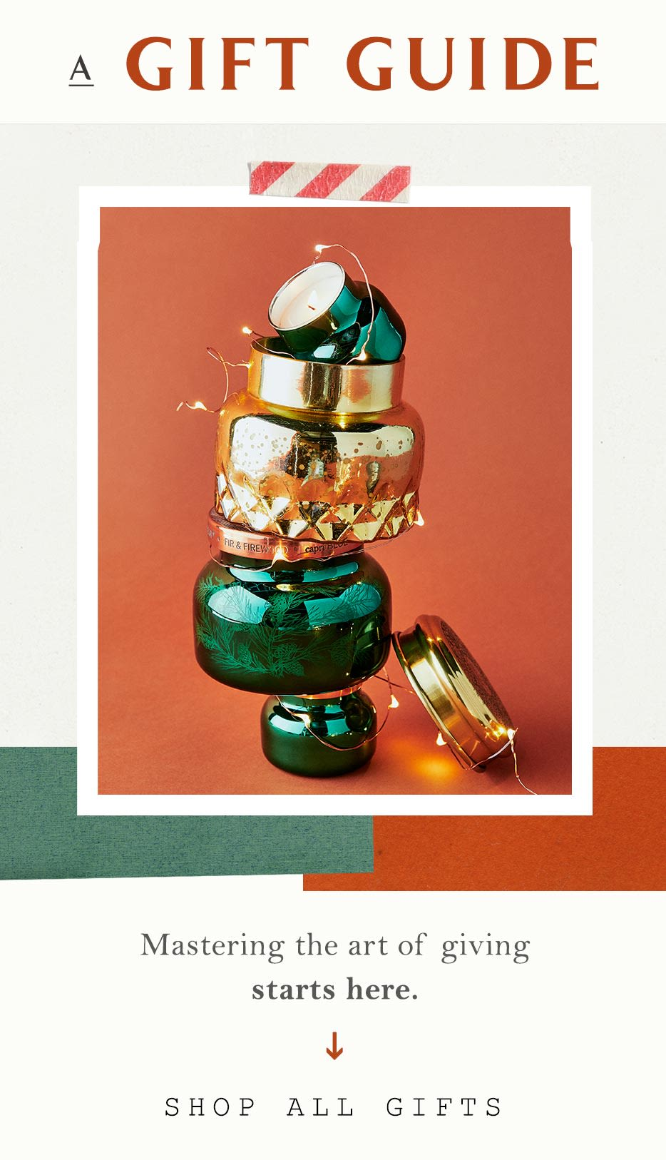 Christmas Gift Guide Catalogue.A Gift Guide Anthropologie