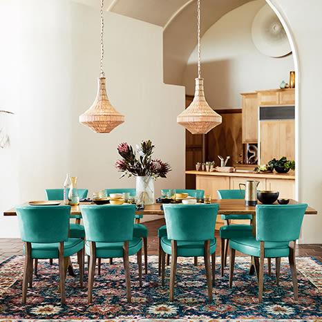Image result for teal furniture