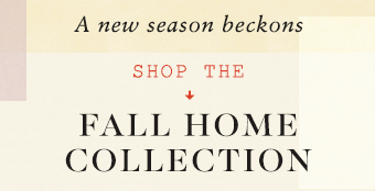 shop the fall home collection