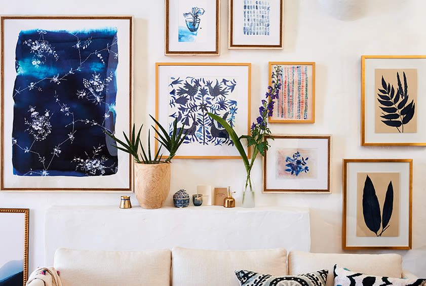 Gallery Wall Ideas & Layouts | Anthropologie