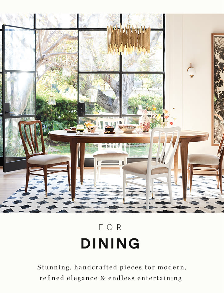 for dining