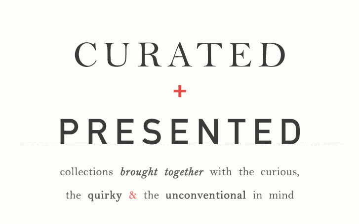 curated & presented