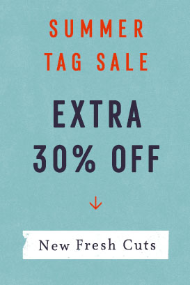 tag sale extra 30% off
