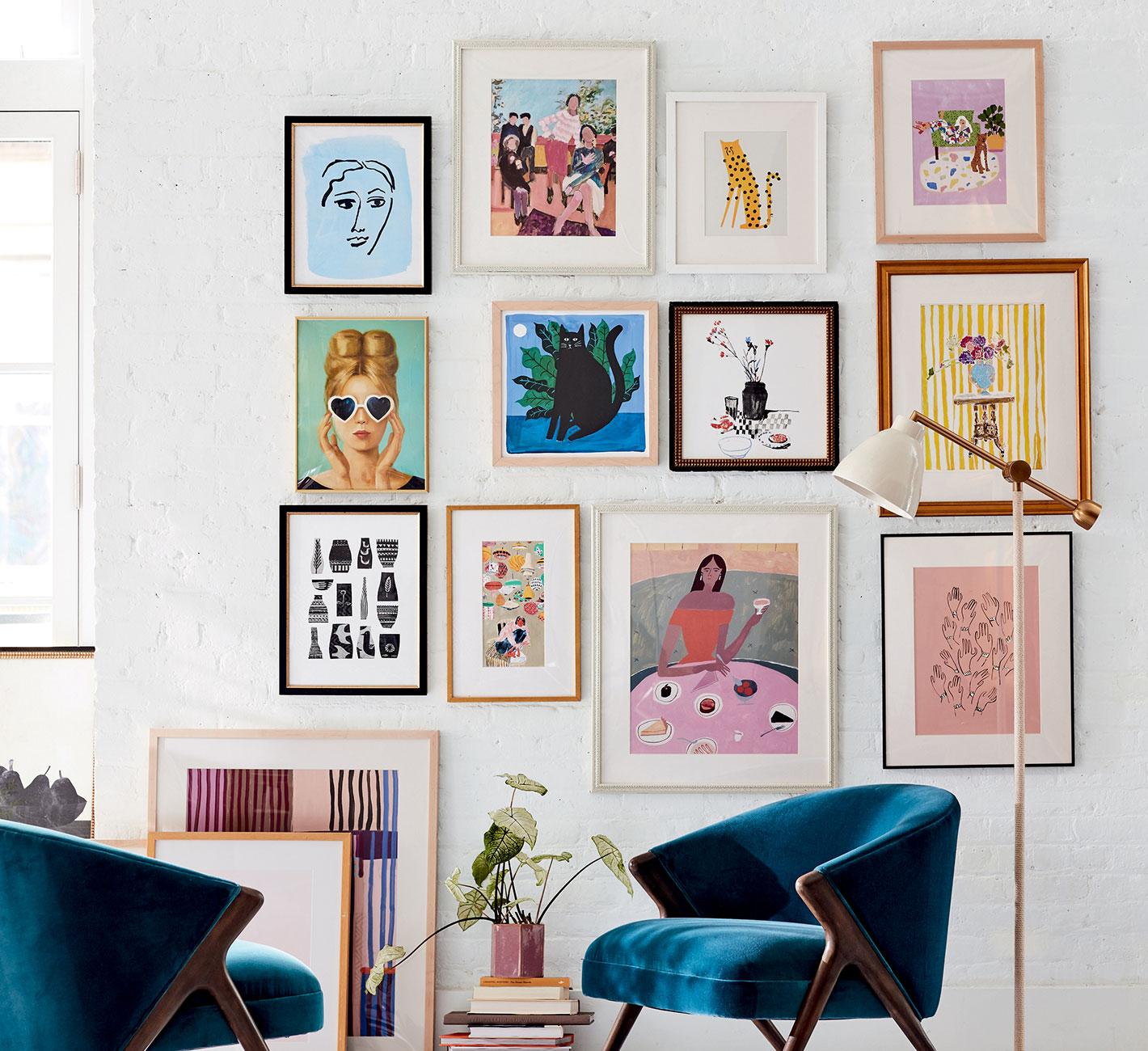 Design Framed Wall Art