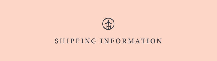 Shipping Information | Anthropologie