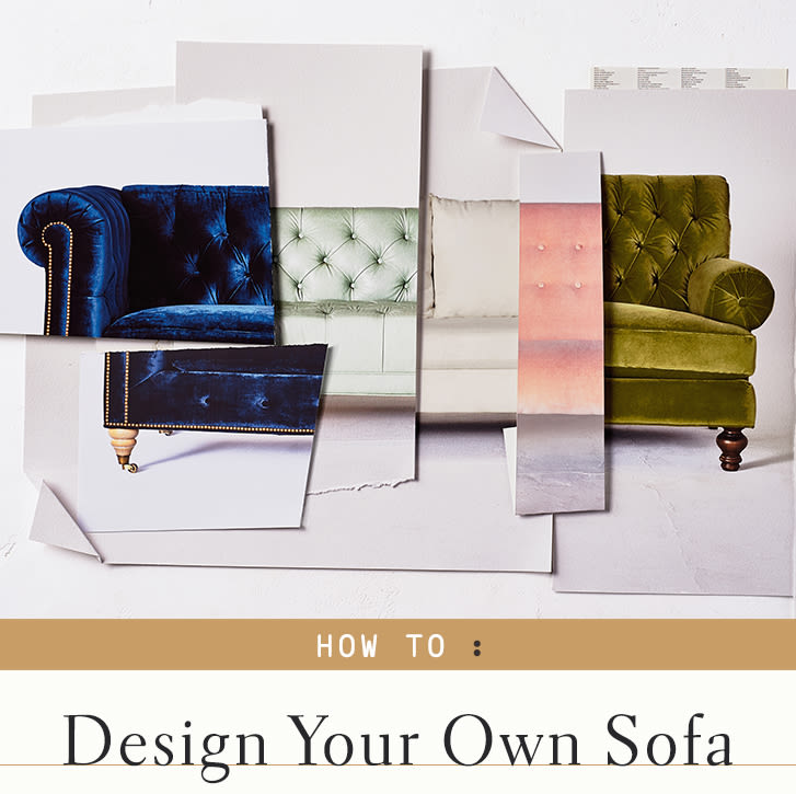 Peachy Designing Your Own Sofa Anthropologie Theyellowbook Wood Chair Design Ideas Theyellowbookinfo