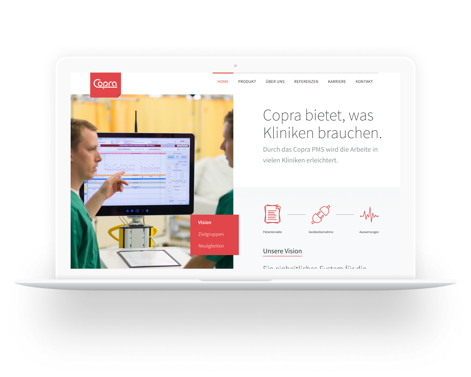 Copra GmbH corporate identity design