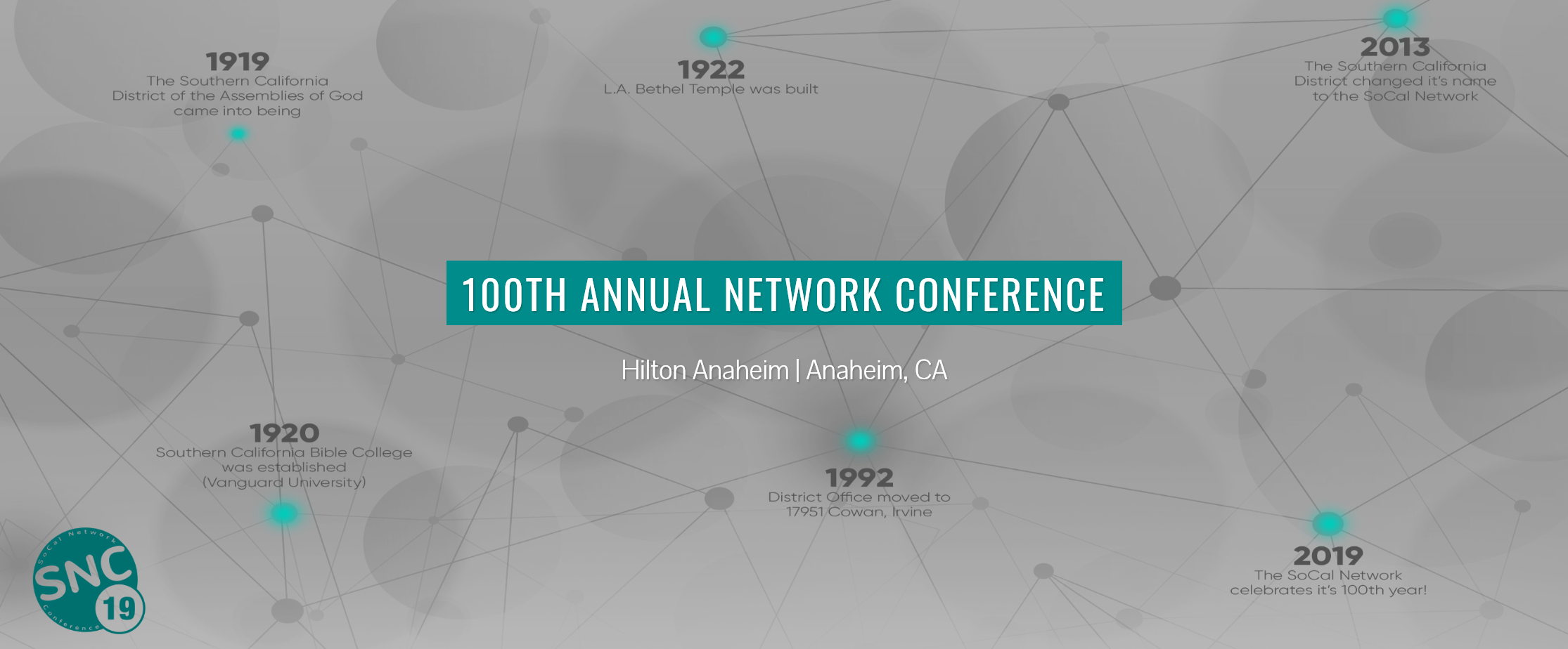 Promotion for SoCal Network Conference