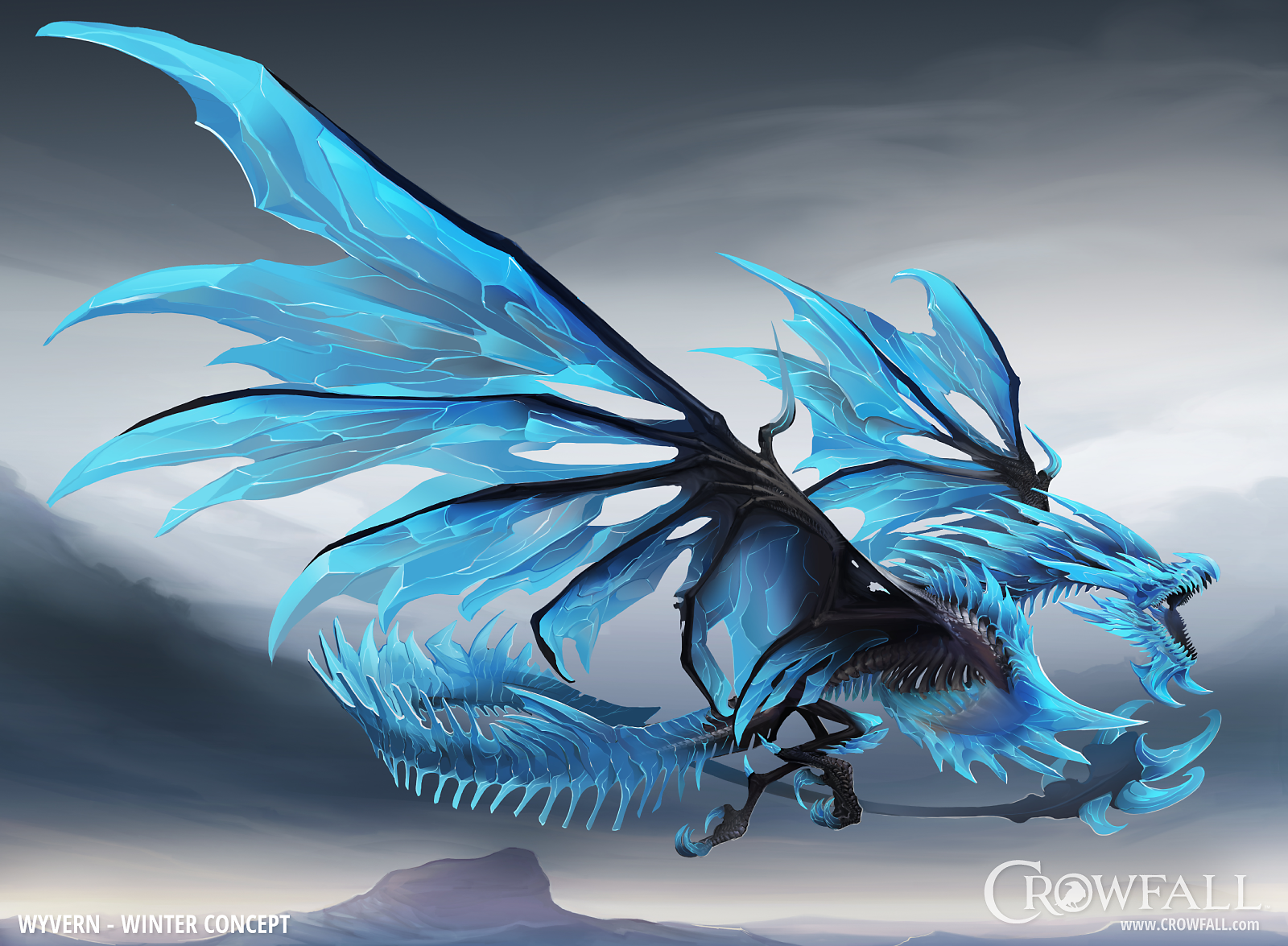 Wyvern Winter Concept