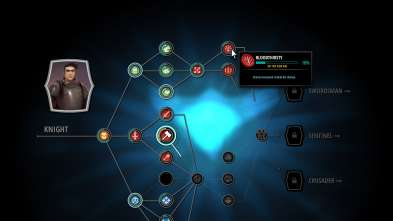 Knight Skill Tree Prototype