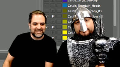 LIVE WITH JON AND TODD: EXPLORING THE CASTLE