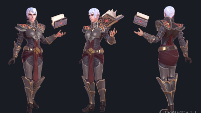 Crowfall Female Confessor lineup
