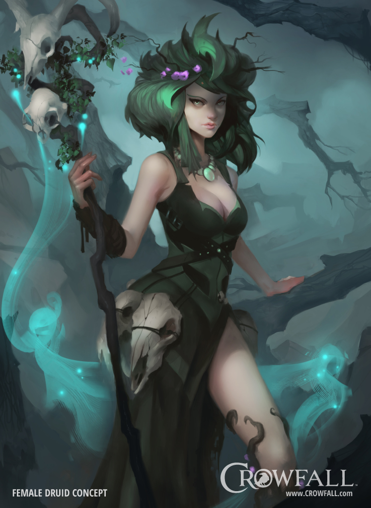Female Druid Concept