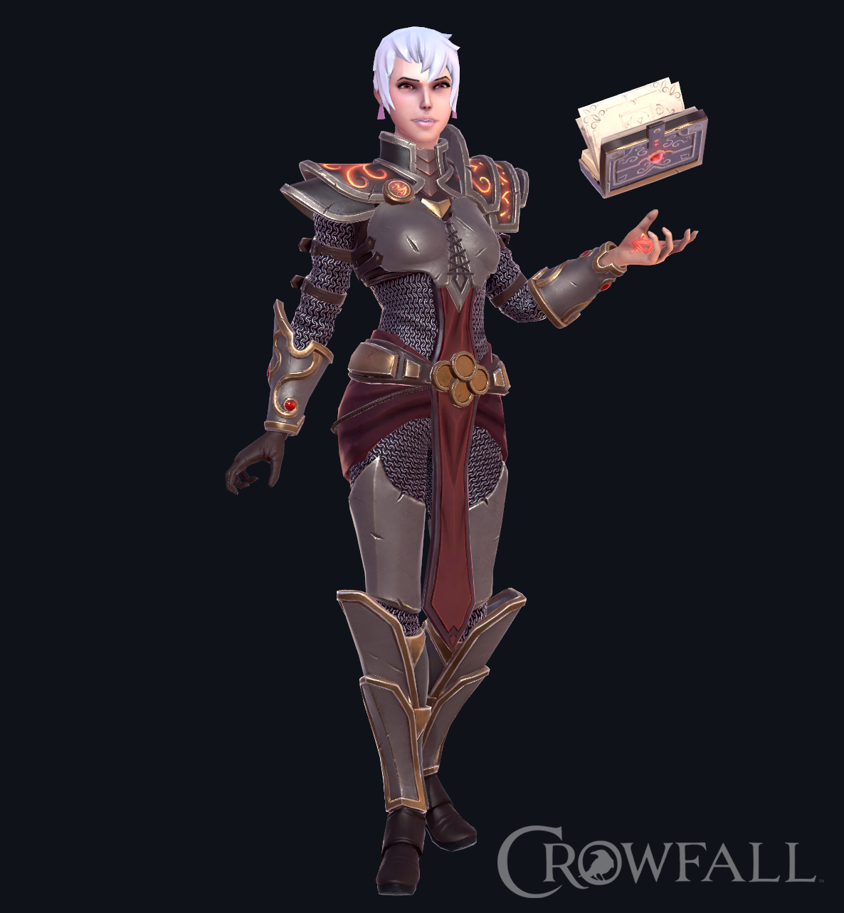 Crowfall Female Confessor