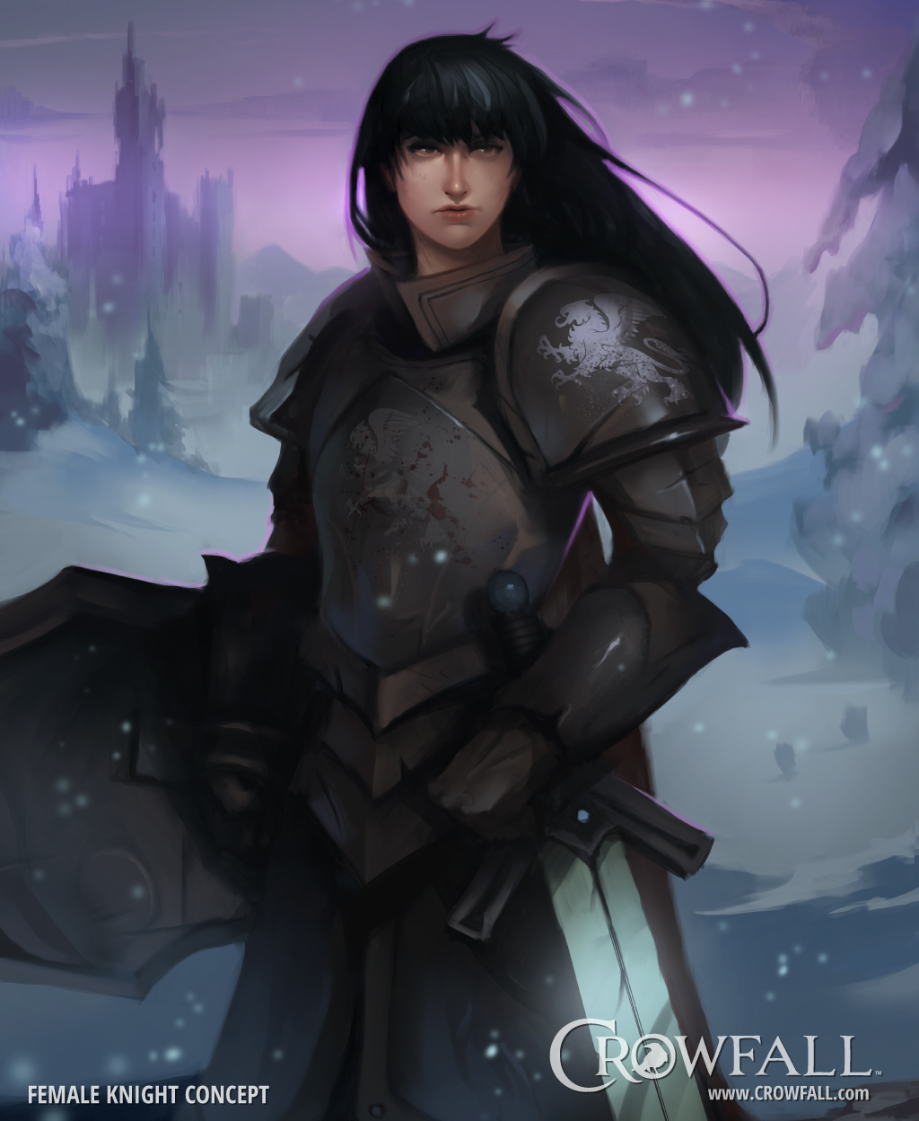 Female Knight Concept #1