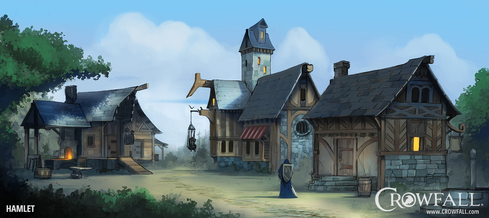 Crowfall HamletHouses Watermarked
