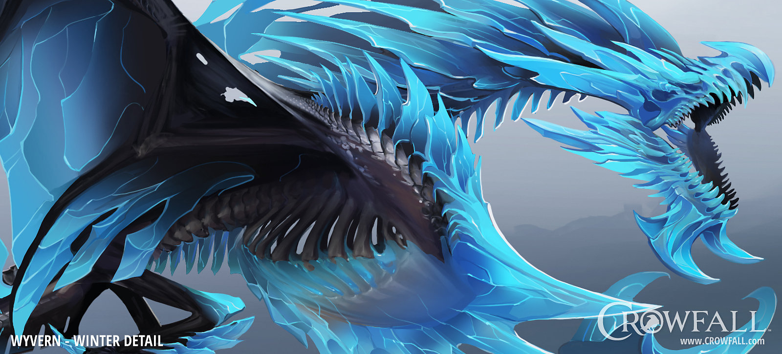 Wyvern Detailed Winter Concept