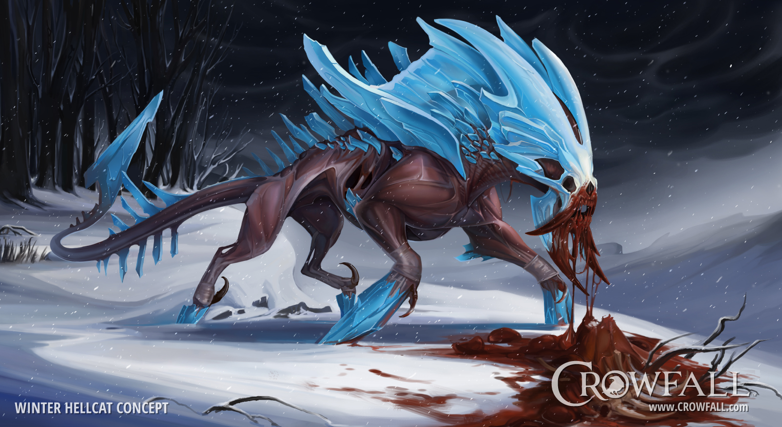 Crowfall Winter Hellcat Concept