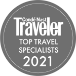 Awards: 2021 Condé Nast Traveler - Travel Specialists Awards