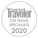 Awards: 2020 Conde Nast Traveler - Top Travel Specialist