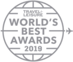 Awards: 2019 Travel Leisure - World's Best Awards
