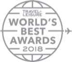 Awards: 2018 Travel Leisure - World's Best Awards