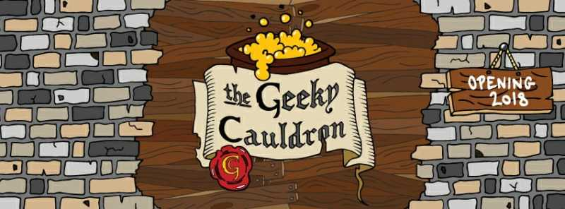 Cover The Geeky Cauldron