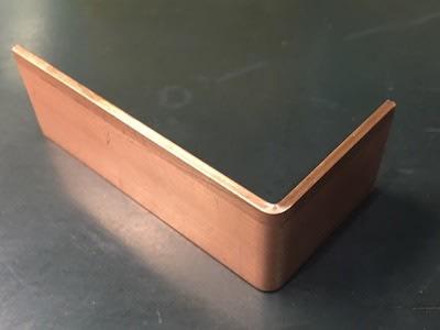 一般的な厚さの銅バー曲げ2