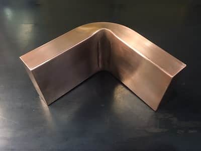 極厚の銅バー曲げ加工2