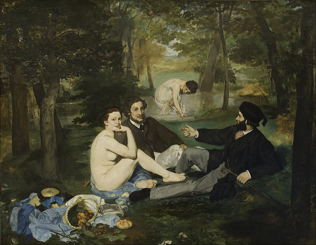 1024px-Edouard Manet - Luncheon on the Grass - Google Art Project