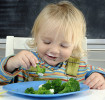 Enséñale a tus hijos a comer recetas vegetales