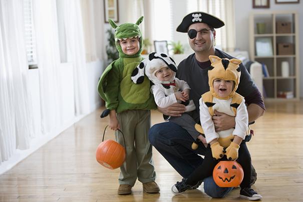 Manualidades de Halloween para niños pequeños