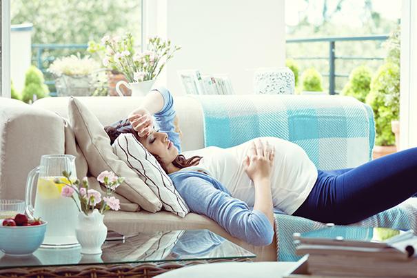 Tercer trimestre de embarazo: Dolores y Molestias