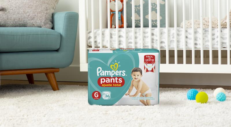 Pampers® Pants Ajuste Total