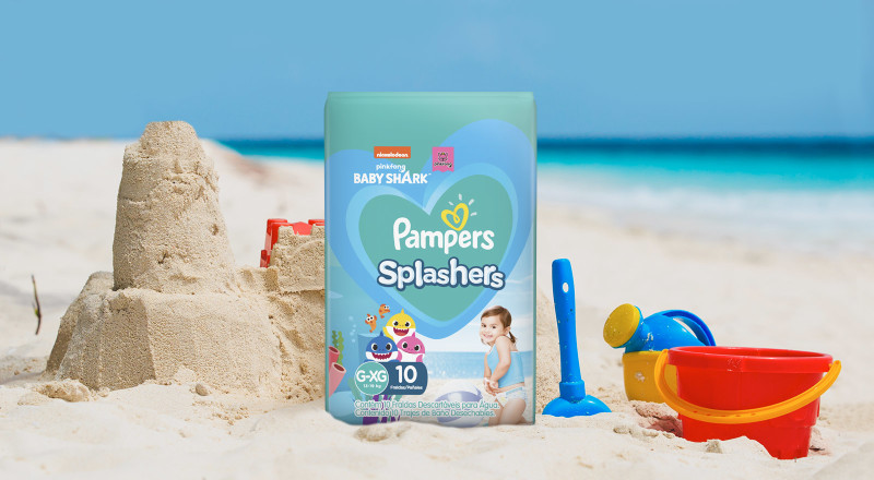 Pampers® Splashers