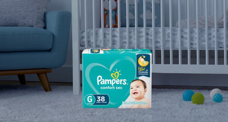 Pampers® Confort Sec