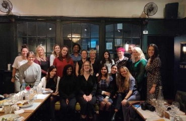 Women in Health Tech Supper Club.