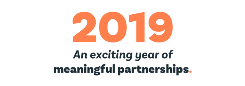 Patchwork in 2019. Reflecting on an exciting year of meaningful partnerships .