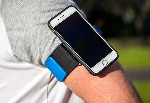 Quad Lock iPhone Run Kit