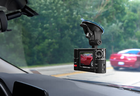Dual Recording Windshield Camera