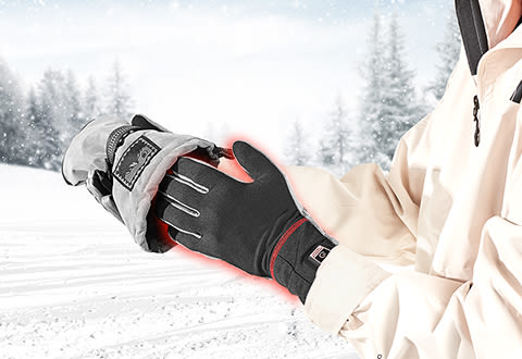 Sharper Image Wireless Rechargeable Warming Glove Liners