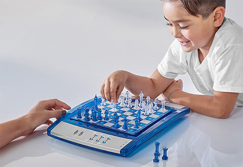 Electronic Lighted Chess
