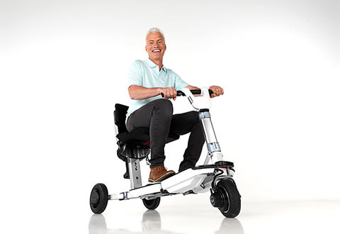 Foldable High Performance Mobility Scooter