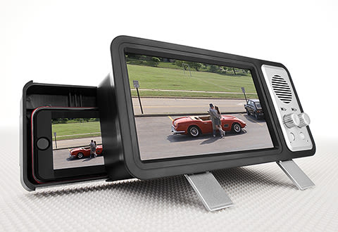 Smartphone TV Screen Magnifier