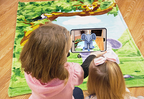 Interactive Story Telling Blanket