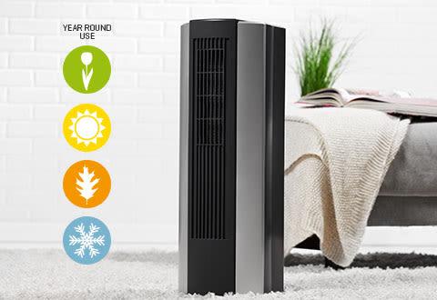 Humidifying Heating/Cooling Air Purifier