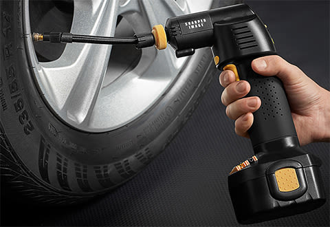 Cordless Auto Stop Tire Inflator