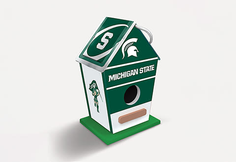 NCAA Sports Fanatic Birdhouse